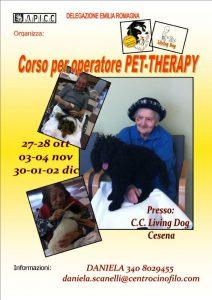 Corso Operatore Pet Therapy