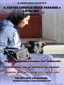 preparazione cani supporto
